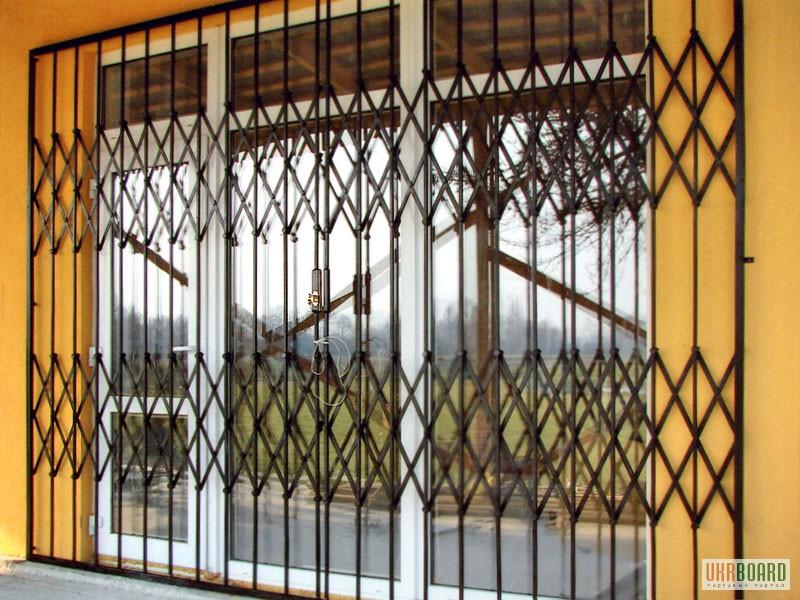 Раздвижные решетки на окна недорого
