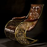 Antique Rocking Chair : Pics for Upholstered Antique Rocking Chair