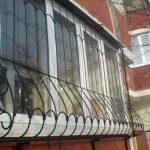 Балкон ограждение фото 16