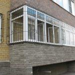 Балкон ограждение фото 34