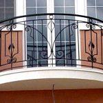 Балкон ограждение фото 44