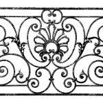 Балкон ограждения эскиз 13