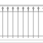 Балкон ограждения эскиз 14