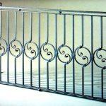 Балкон ограждения эскиз 24