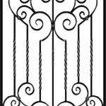 Решетка кованая 41———— от 4200 руб. м2