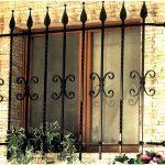 Решетки кованые фото 18