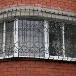 Решетки кованые фото 44