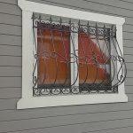 Решетки кованые фото 49