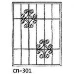 Сварные решетки эскиз 11———— от 600 руб. м2