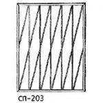 Сварные решетки эскиз 12———— от 650 руб. м2