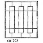 Сварные решетки эскиз 13———— от 600 руб. м2