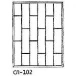 Сварные решетки эскиз 16———— от 750 руб. м2