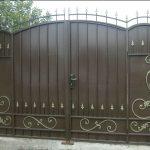 Ворота фото 11