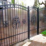Ворота фото 18