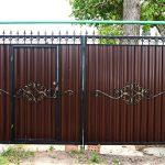Ворота фото 21
