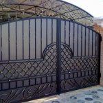 Ворота фото 22