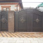 Ворота фото 28
