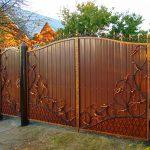 Ворота фото 29