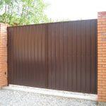 Ворота фото 33