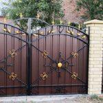 Ворота фото 35