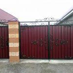 Ворота фото 36