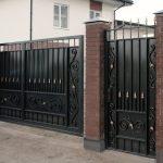 Ворота фото 39