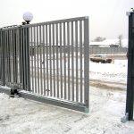 Ворота калитки эскиз 39