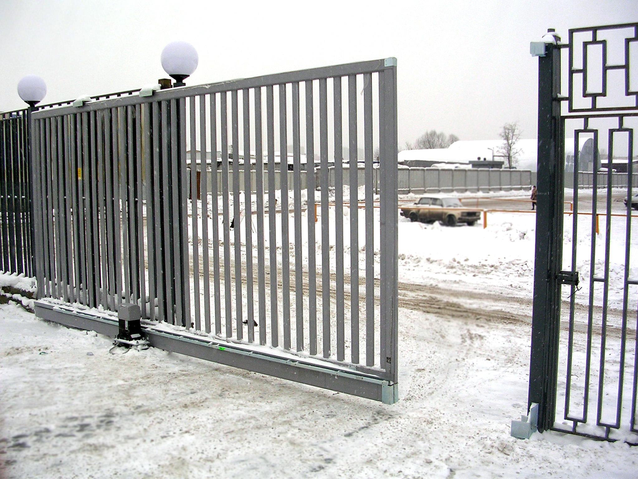 электрические ворота в кирове
