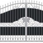 Ворота калитки эскиз 53