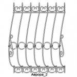 Решетка кованая 11———— от 2000 руб. м2