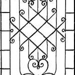 Решетка кованая 36———— от 7000 руб. м2