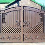 Ворота фото 19