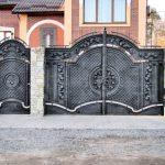 Ворота фото 27