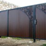 Ворота фото 31