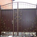 Ворота фото 32