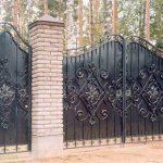 Ворота калитки фото 10