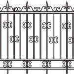 Забор эскиз 10
