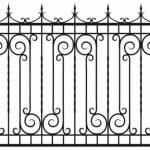 Забор эскиз 12