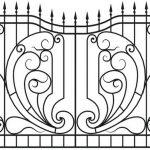 Забор эскиз 16