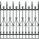 Забор эскиз 15