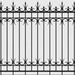 Забор эскиз 19