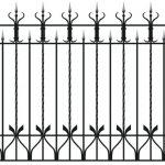 Забор эскиз 21