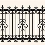 Забор эскиз 25