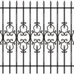 Забор эскиз 28