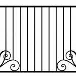 Забор эскиз 30