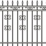 Забор эскиз 33