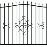 Забор эскиз 35