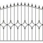 Забор эскиз 42