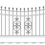 Забор эскиз 47