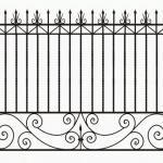 Забор эскиз 56